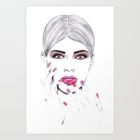Beauty Portrait 6 Art Print