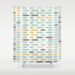 ethic pattern Shower Curtain