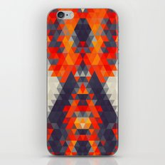 Abstract Triangle Mountain iPhone & iPod Skin