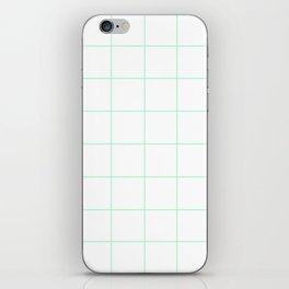 WINDOWPANE ((seafoam green)) iPhone Skin