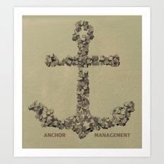 Anchor Management Art Print