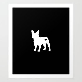 French Bulldog Lover Frenchies Dog Art Print