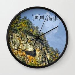 How Great Thou Art... Wall Clock