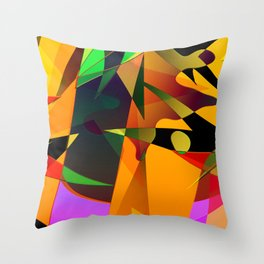 circle shear 2c Throw Pillow