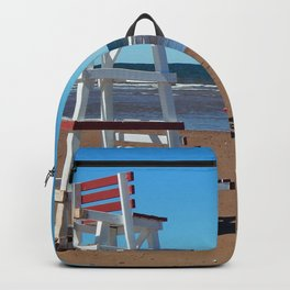 Lifeguard Tower Backpack