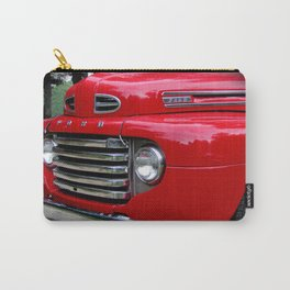 the old red ford truck Carry-All Pouch
