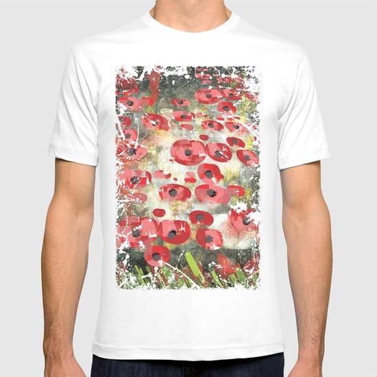 angela's poppies T-shirt