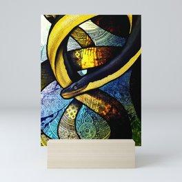 Yellow-Bellied Sea Snake Mini Art Print