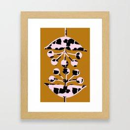 Seed Heads Framed Art Print