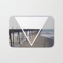 Victorian Pier - triangle Bath Mat