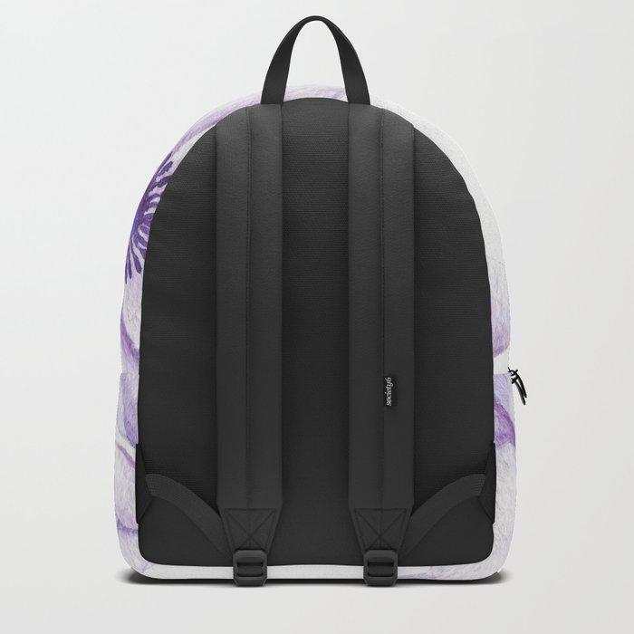 Anemones 2 White #society6 #buyart Backpack