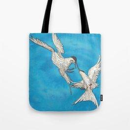 Arctic Terns Tote Bag