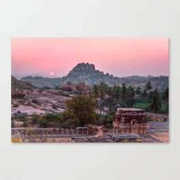 Jungle book: sunrise Canvas Print