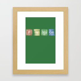 Pwnage Framed Art Print