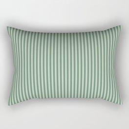 Green Lines Rectangular Pillow