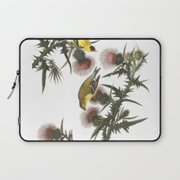 Goldfinch And Thistle Laptop Sleeve