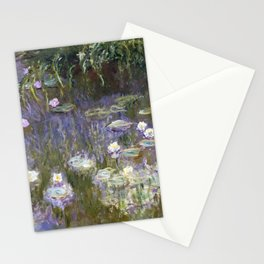 Water Lilies 1922 by Claude Monet Stationery Cards