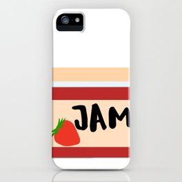 Real Food This Is My Jam Jelly iPhone Case