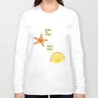 motivational Long Sleeve T-shirts featuring Motivational Beach! by AnishaCreations