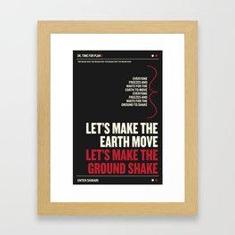 OK, Time For Plan B! Framed Art Print