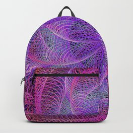 Pink spiral magic Backpack