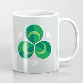 White Clover Coffee Mug