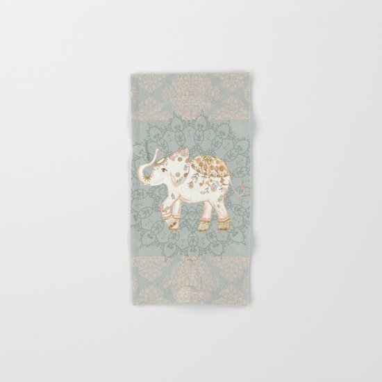 INDIAN ELEPHANT Hand & Bath Towel