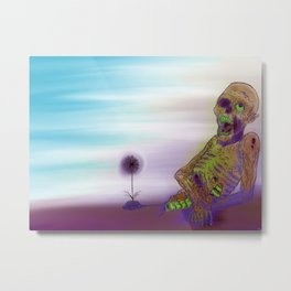 Spring of the Zombies Metal Print
