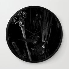 Lost in the Dark Wall Clock