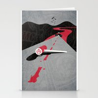 sons of anarchy Stationery Cards featuring Sons Of Anarchy Print by Take Heed
