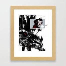 Lil' Red Framed Art Print