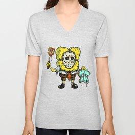 Spongebob Horror Unisex V-Neck