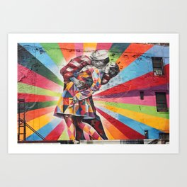New York Graffiti Art Print