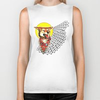 coyote Biker Tanks featuring Coyote by Renaissance Youth