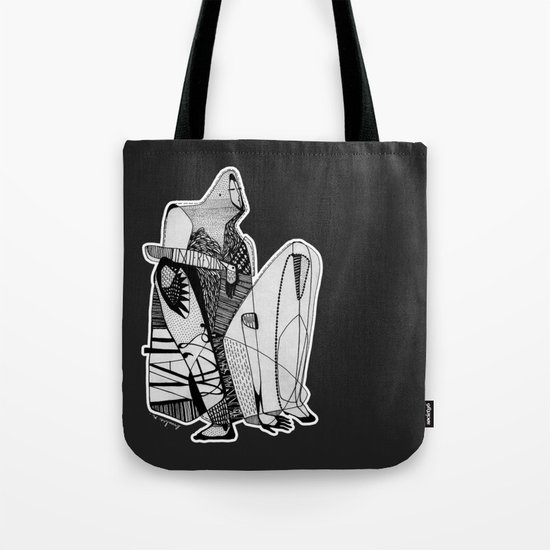 Wait, it's gonna be interesting (touch the ground) - Emilie Record Tote Bag