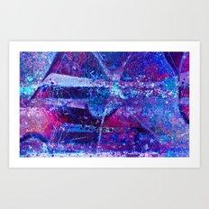 Purple rain by Jean-François Dupuis Art Print