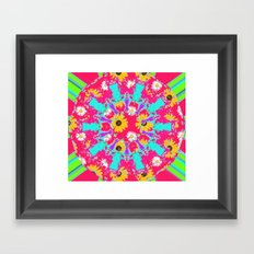 Sweet summer Vibe  Framed Art Print