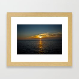 Horizon Walkway Framed Art Print