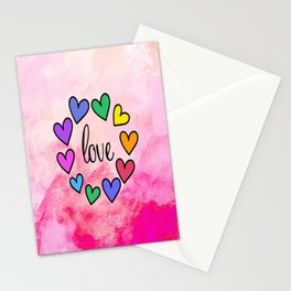 Love 118 Stationery Cards