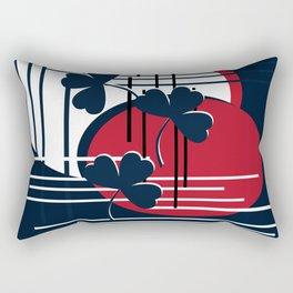 Saint Patrick, abstraction Rectangular Pillow