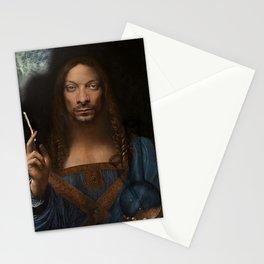 Sativator Mundi Stationery Cards