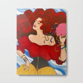 Gypsy Fiesta Metal Print