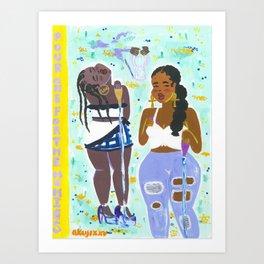 Libations Art Print