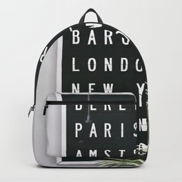 Dream Destinations after the Shutdown Backpack