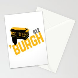 Pittsburgh 'Burgh Incline 412 Print Stationery Cards