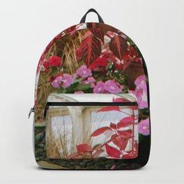 Pink Plants Backpack