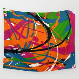 Wet Paint no. 04 Wall Tapestry