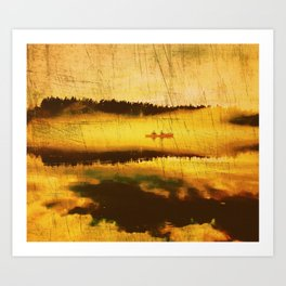 Outbound Art Print