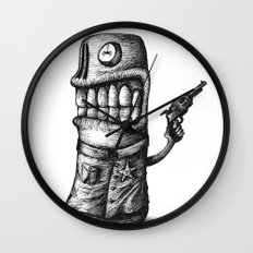 SHERIFF Wall Clock