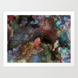 Space Party Art Print